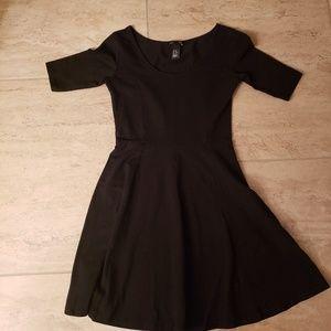 Black H&M Skater Dress